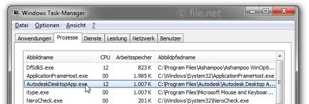 AutodeskDesktopApp exe Windows Prozess - Was ist das?