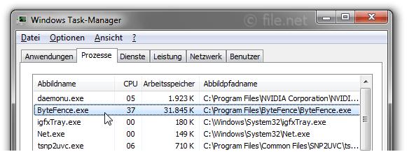 bytefencescan.exe assertion failed
