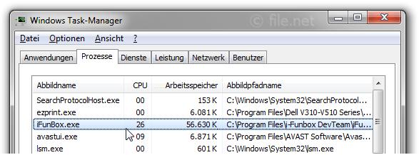 iFunBox exe Windows Prozess - Was ist das?
