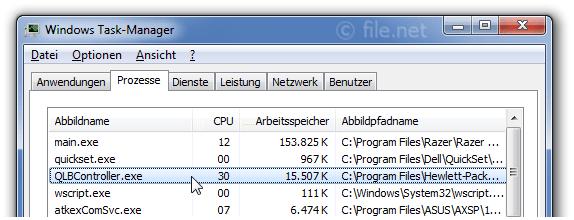 QLBController.exe Windows Prozess - Was ist das?