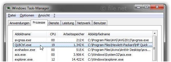 QlbCtrl.exe Windows Prozess - Was ist das?