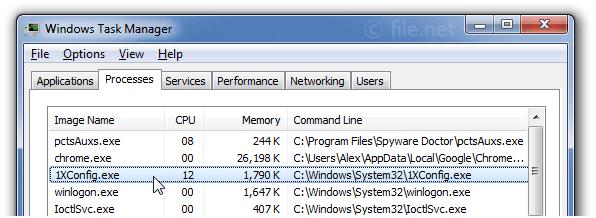 Is 1XConfig.exe safe? How to remove a 1XConfig error?