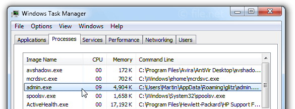admin exe windows process what is it?admin exe file information