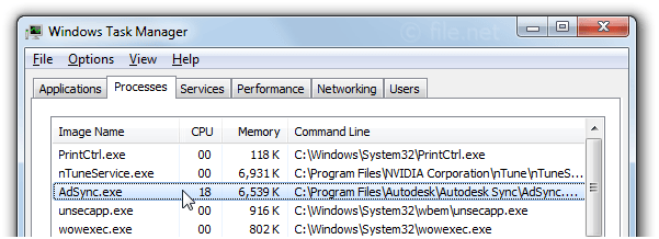 AdSync exe Windows process - What is it?