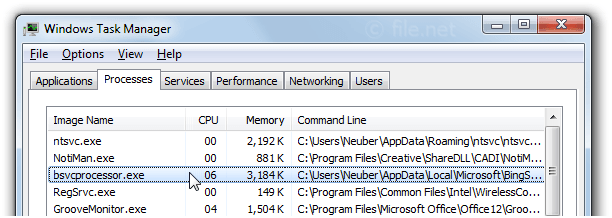 BSvcProcessor exe Windows process - What is it?