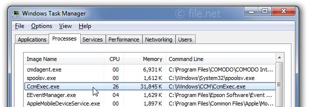 Is CcmExec exe safe? How to remove a CcmExec error?