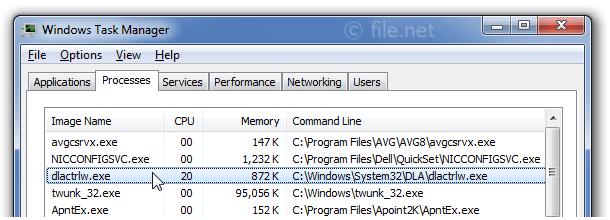 Is dlactrlw.exe safe? How to remove a dlactrlw error?