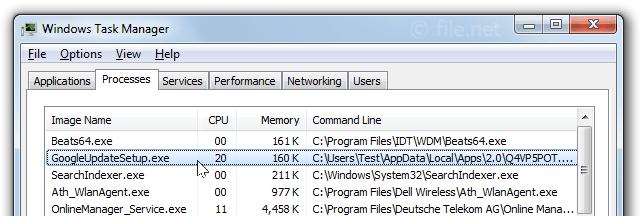 GoogleUpdateSetup.exe Windows process - What is it?