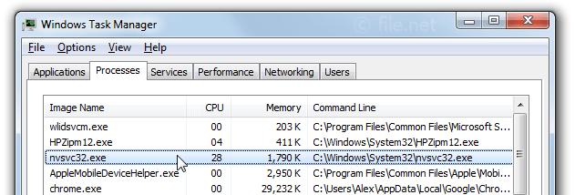 Rundll32. Exe가 프로세스에 수십개가떠요 daum 팁.