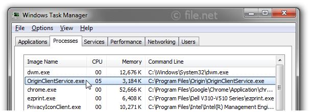 OriginClientService exe Windows process - What is it?