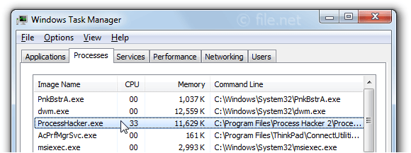 ProcessHacker exe Windows process - What is it?