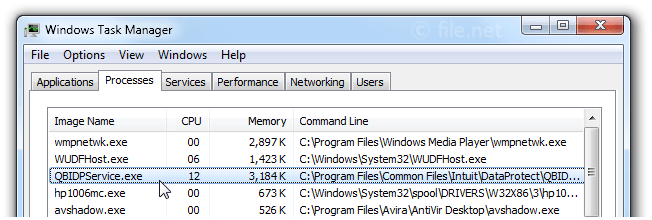 QBIDPService.exe Windows process - What is it?