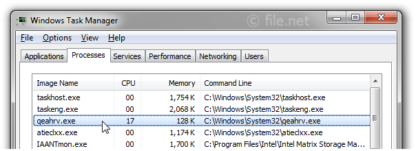 Windows Task Manager with qeahrv