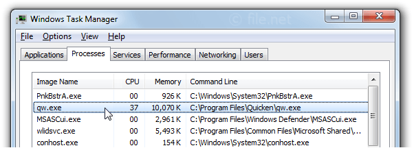 qw.exe Windows process - What is it?
