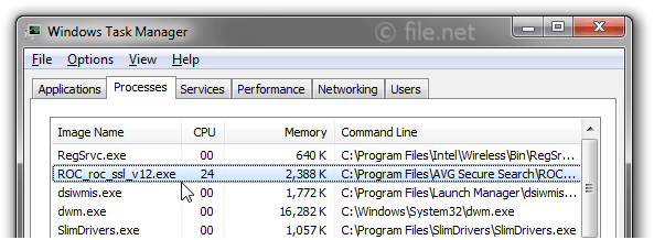 Windows Task Manager with ROC_roc_ssl_v12