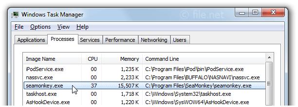 seamonkey exe Windows process - What is it?