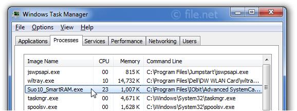 Suo10_SmartRAM.exe Windows process - What is it?