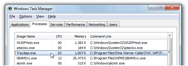 TrayApp.exe Windows process - What is it?
