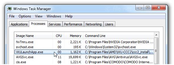 WULaunchApp exe Windows process - What is it?